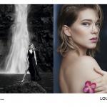 Louis Vuitton (ルイ・ヴィトン) のフレグランスの顔に Léa Seydoux (レア・セドゥ) が登場、Patrick Demarchelier (パトリック・デマルシェリエ) が撮影