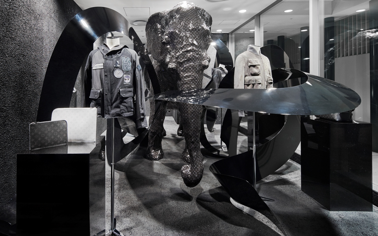 Louis Vuitton (ルイ・ヴィトン) のショップ・イン・ショップが DSMG にオープン、期間限定ディスプレイ、限定アイテムも登場