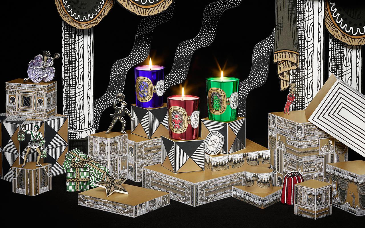 diptyque (ディプティック) がトイ・シアターに着想を得たホリデーコレクションを発売中
