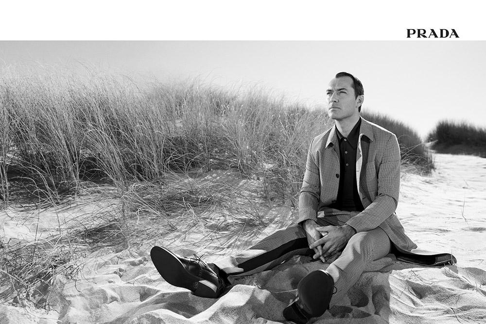 「365」キャンペーンの持つ多面性、そしてハイブリッドなパーソナリティを体現する人物として、ハリウッド俳優の Jude Raw (ジュード・ロウ) がメインキャストとして登 | Photography Willy Vanderperre