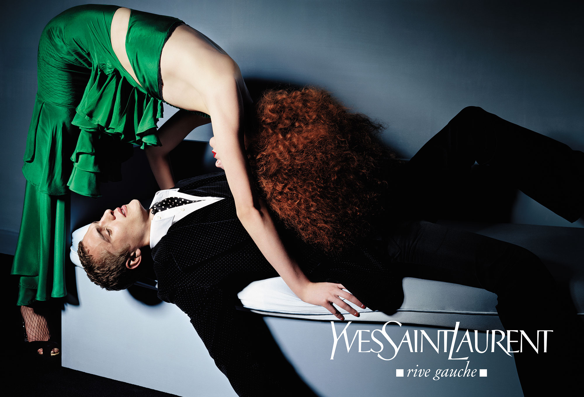 Yves Saint Laurent Advertising | Agency Lloyd&Co. & Photographer Craig McDean