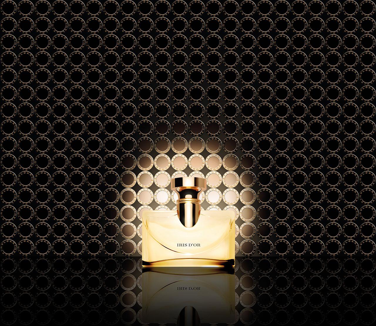 「スプレンディダ イリス ドール オードパルファム」50ml ¥ 11,900、100ml ¥ 17,300