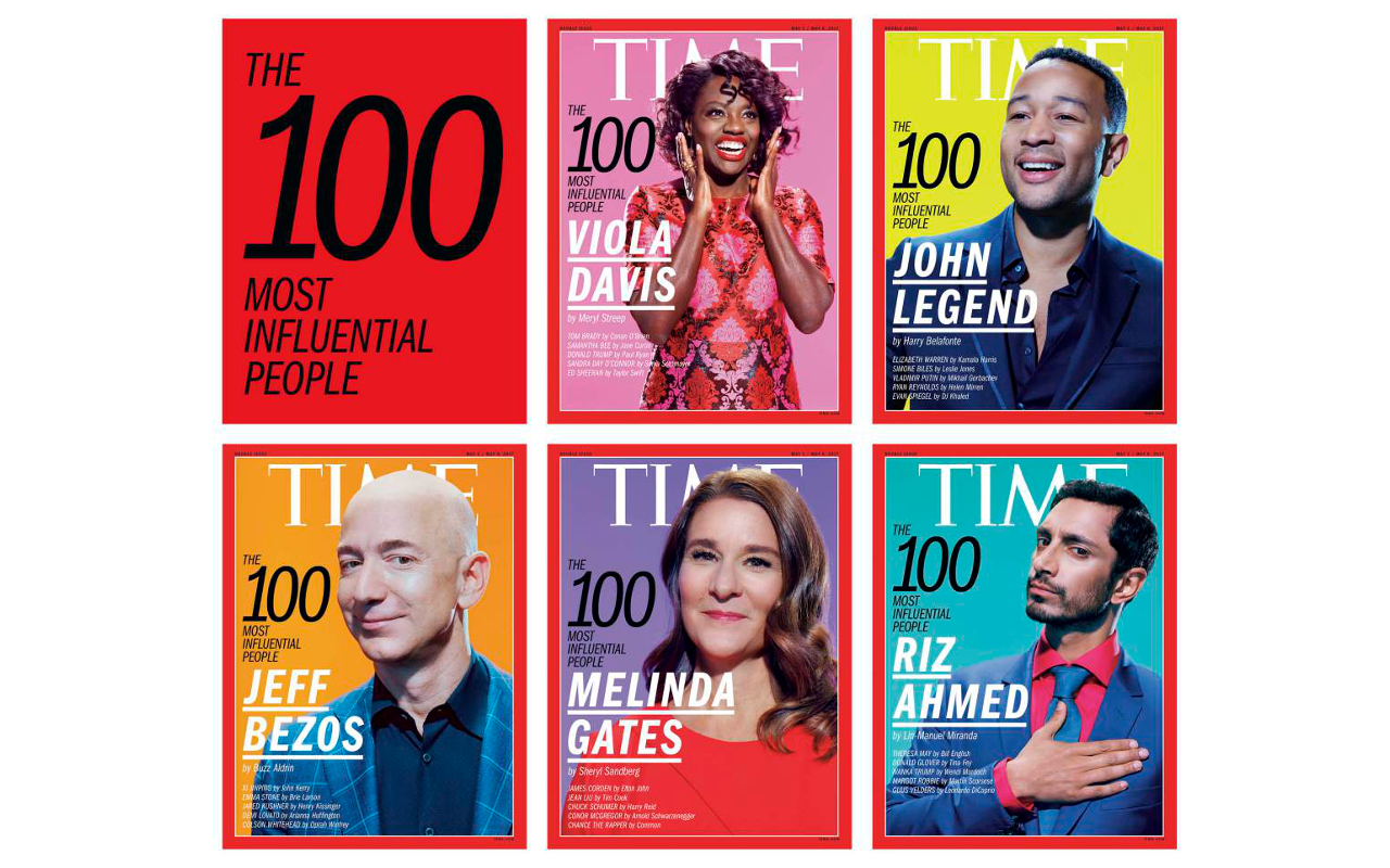 Time Introduces The 100 Most Influential People Of 2017