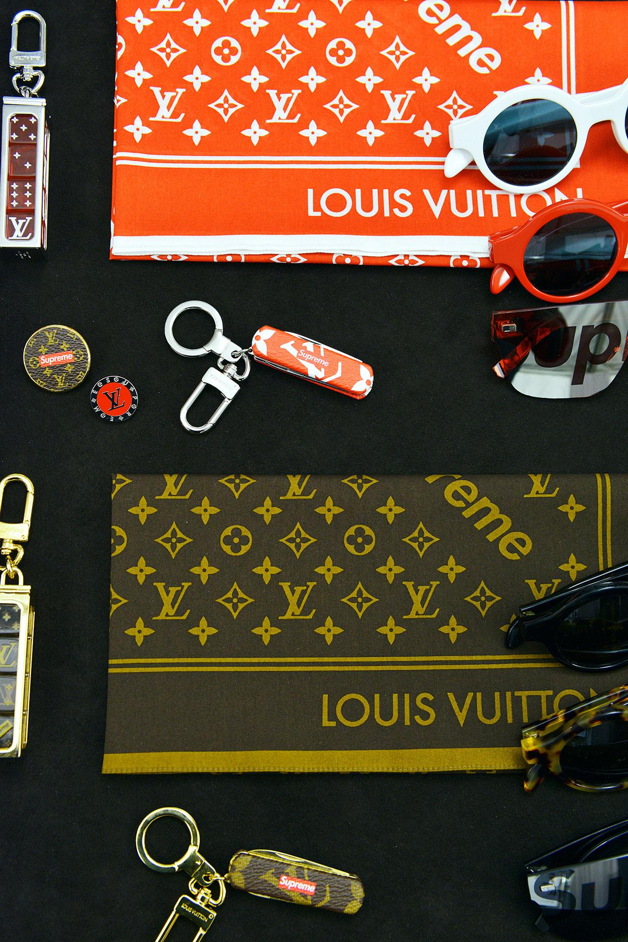 Louis Vuitton in collaboration with Supreme ©Louis Vuitton / Matthieu Dortomb
