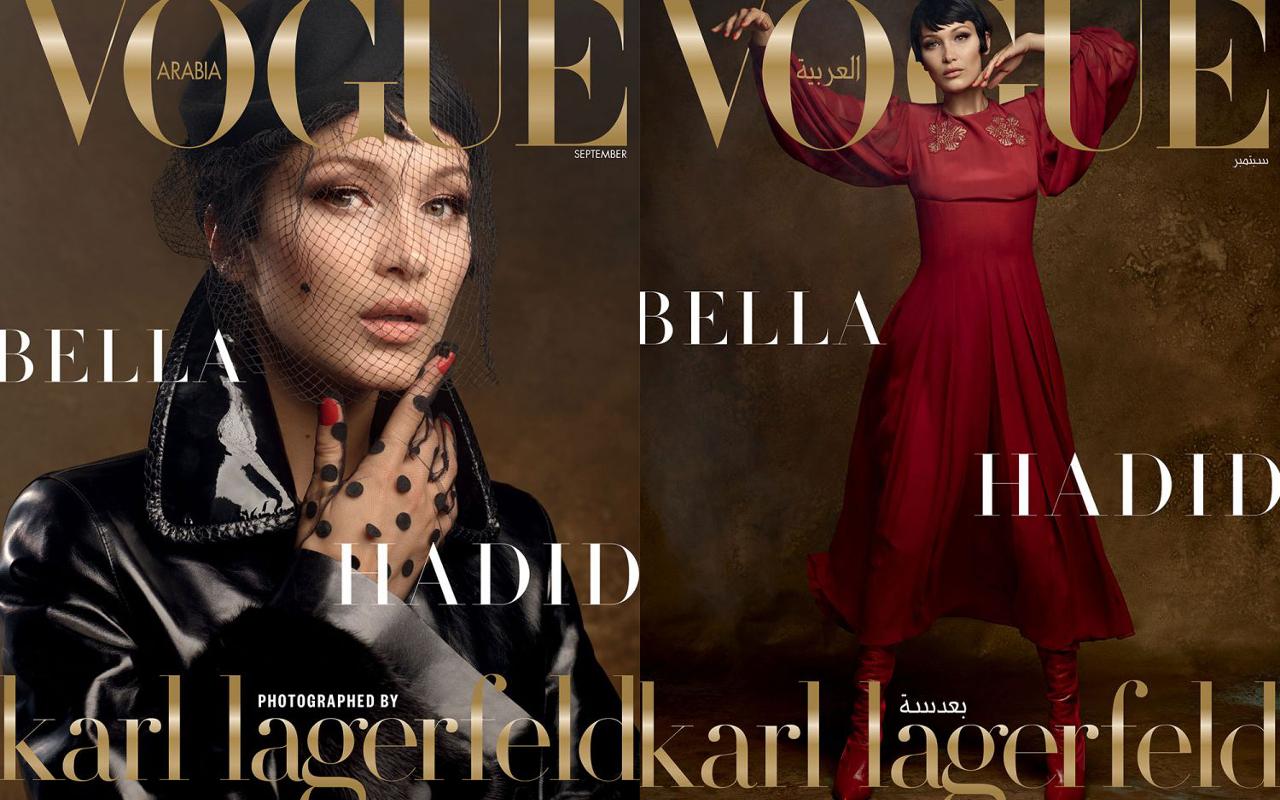 "Karl Lagerfeld Shot Bella Hadid For ""Vogue Arabia"""