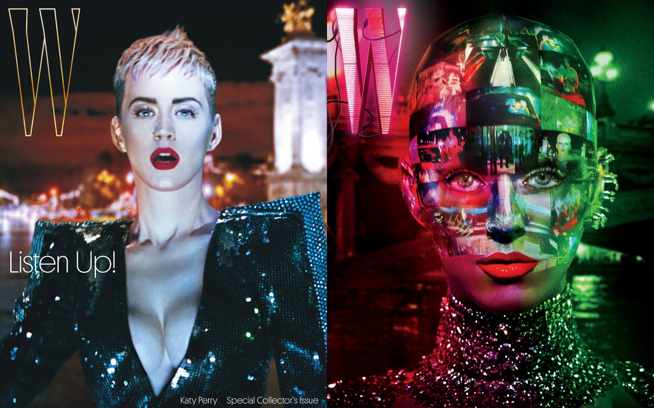 Katy Perry Stars In W Magazine's September Issue