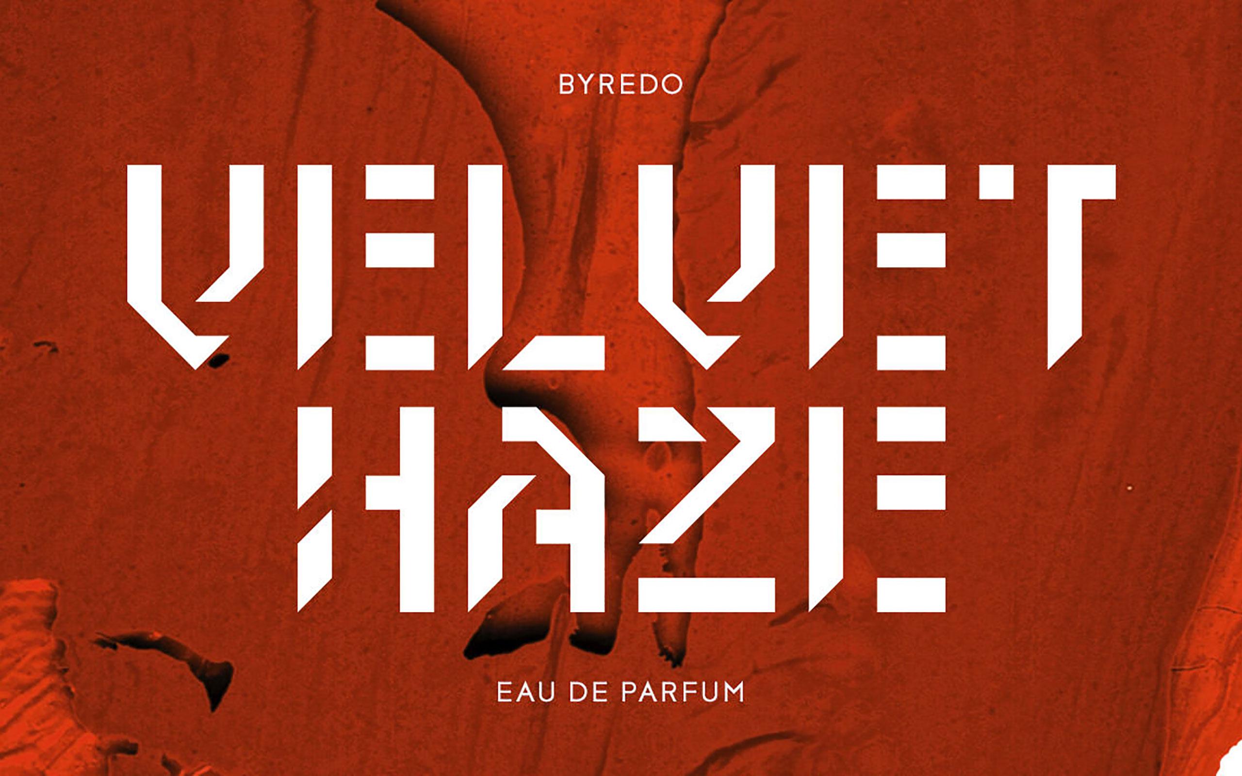 BYREDO Launches New Eau De Parfum 'VELVET HAZE'