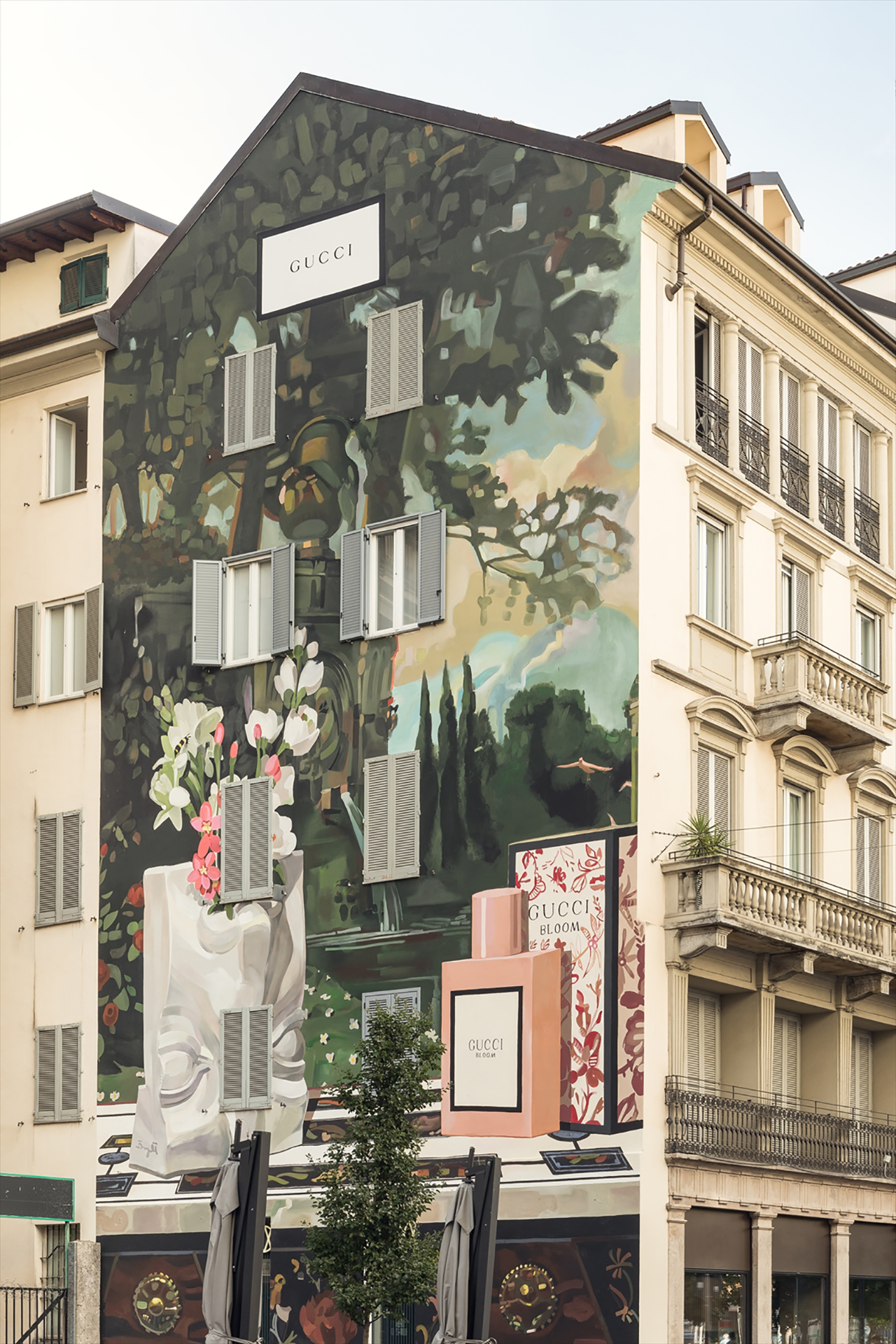 Milan Wall Courtesy of Delfino Sisto Legnani | ©︎ Gucci