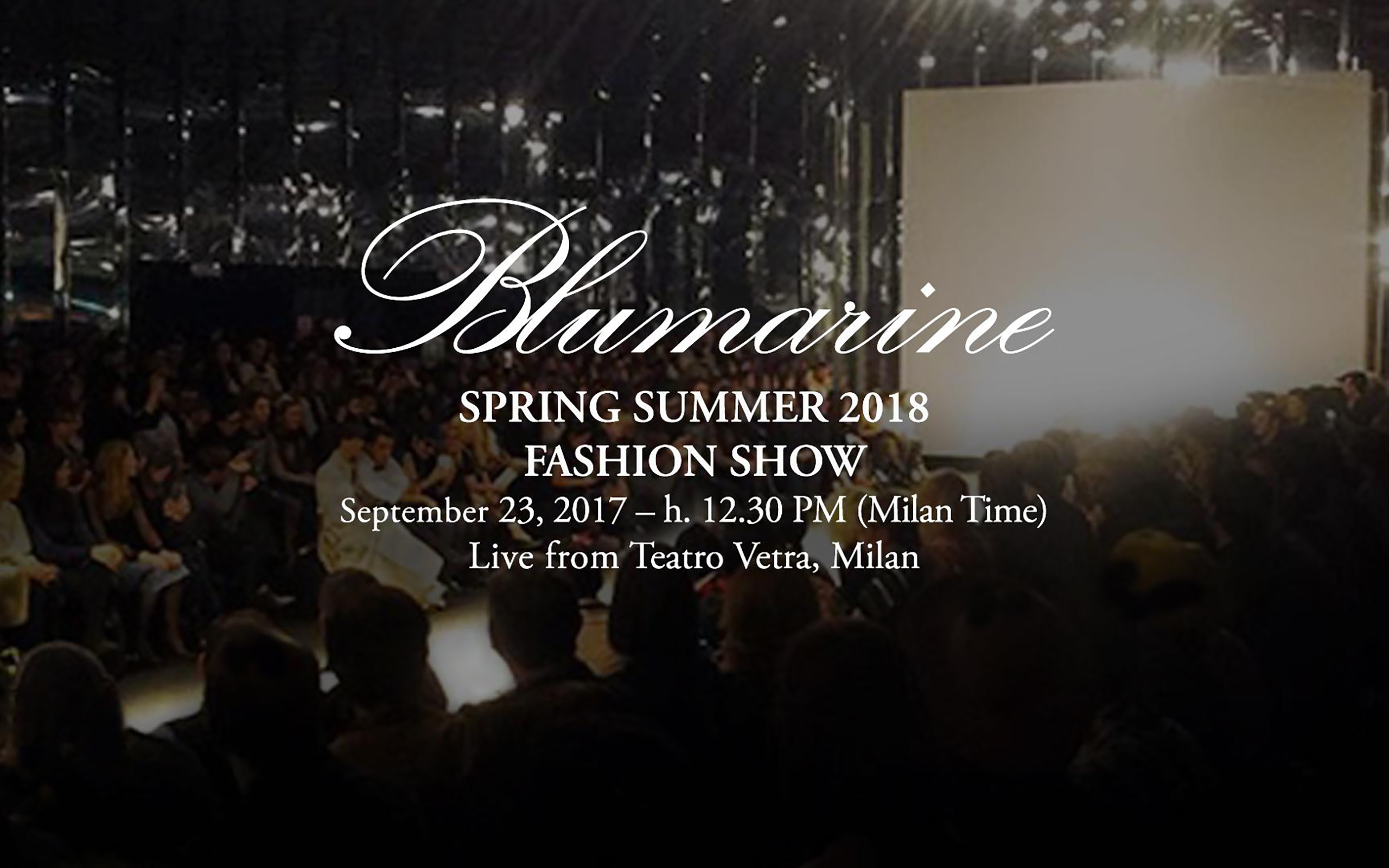 Now On Live: Blumarine Spring – Summer 2018 Collection