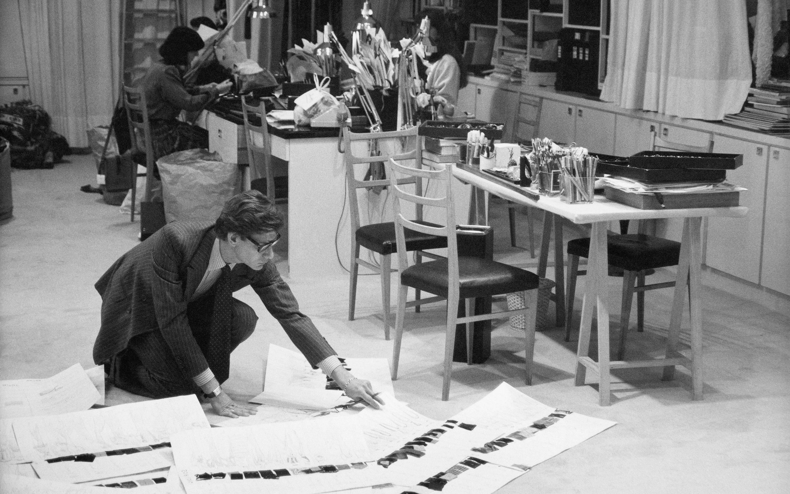 Fondation Pierre Bergé-Yves Saint Laurent Opened Musée Yves Saint Laurent At Paris