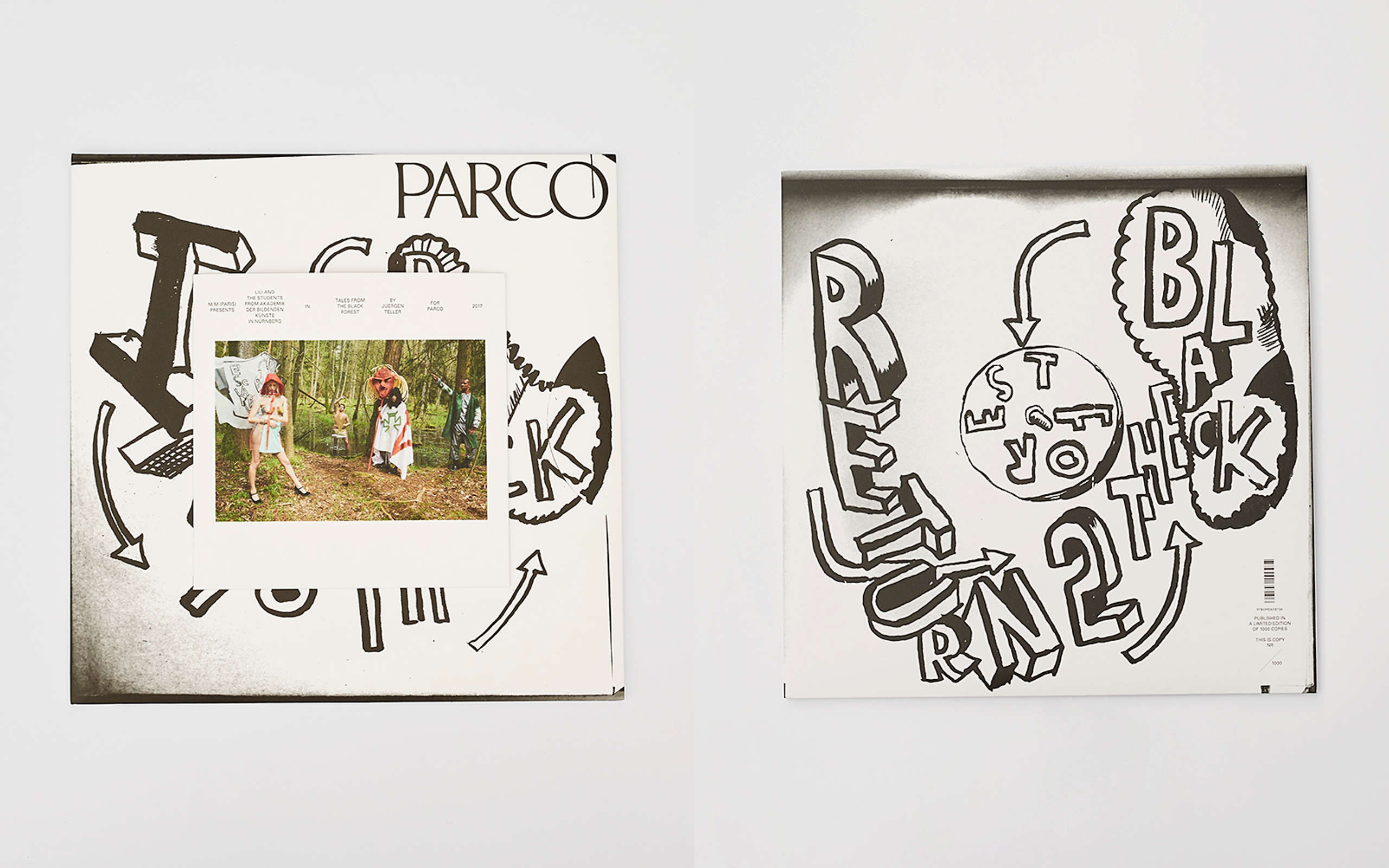 Parco Releases New Art Book Collaborating With M/M(Paris) & Juergen Teller