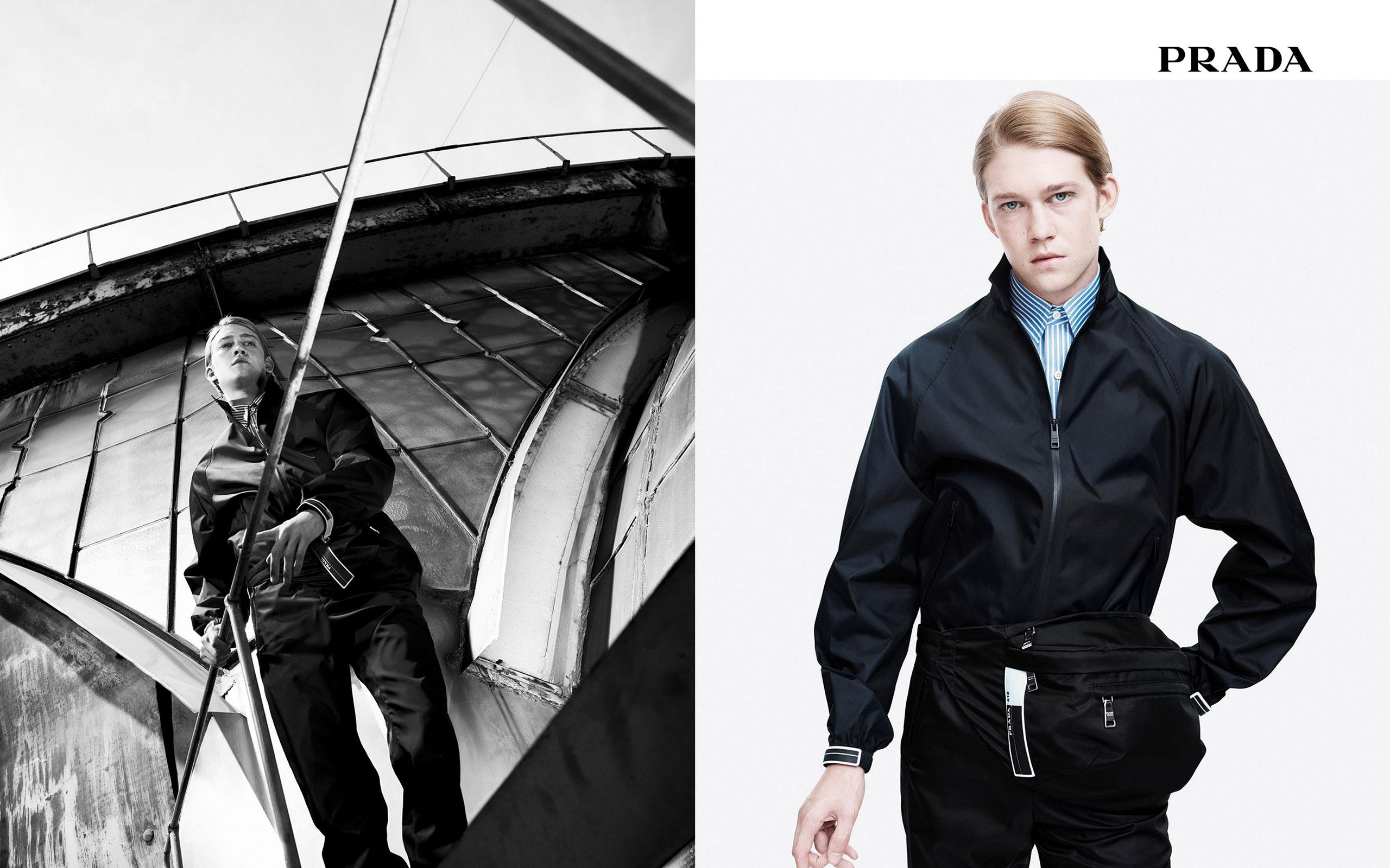 Prada Men's 2018 Advertising Campaign 'Ascension'
