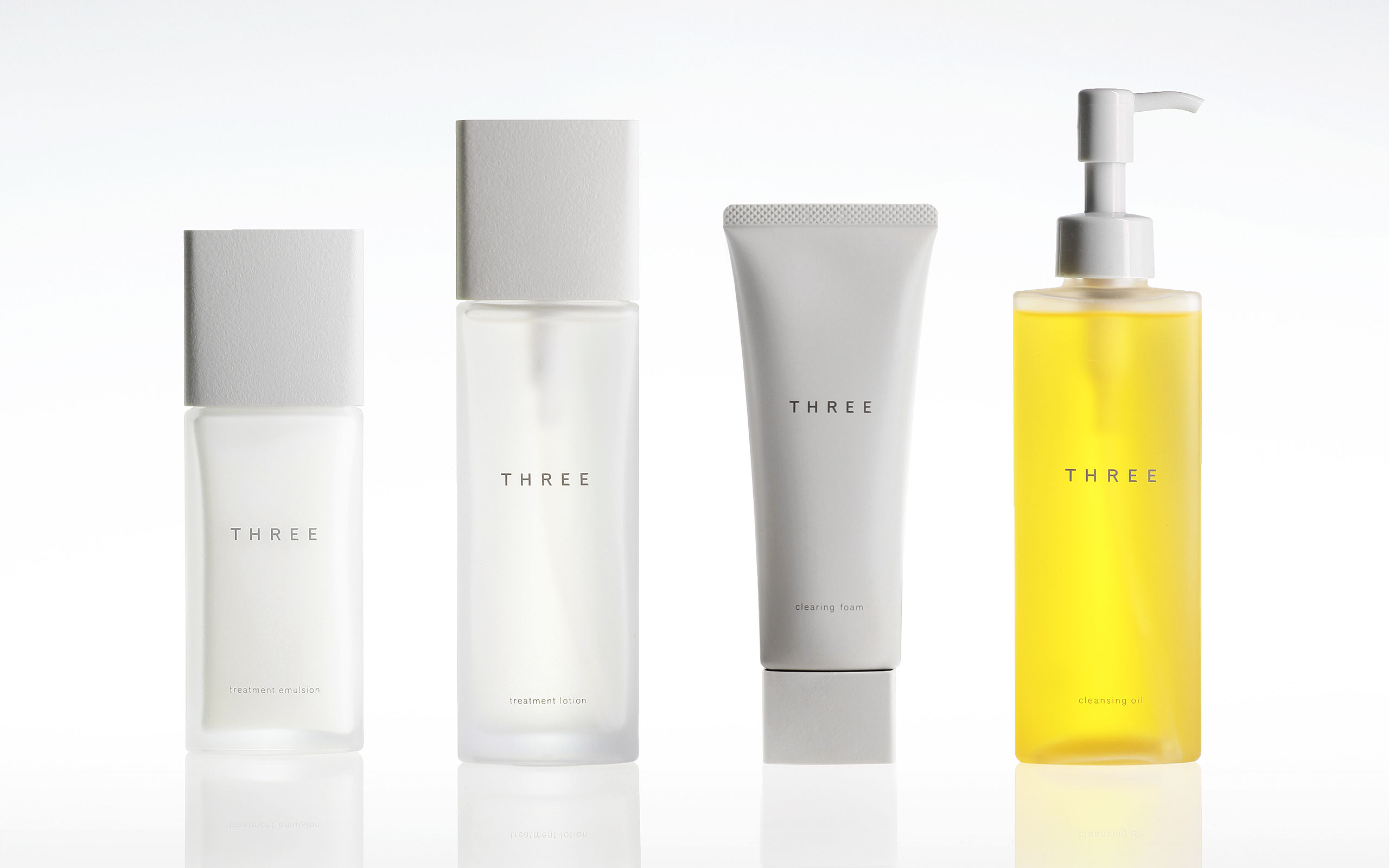 Tokujin Yoshioka Designs THREE's New Skincare Line
