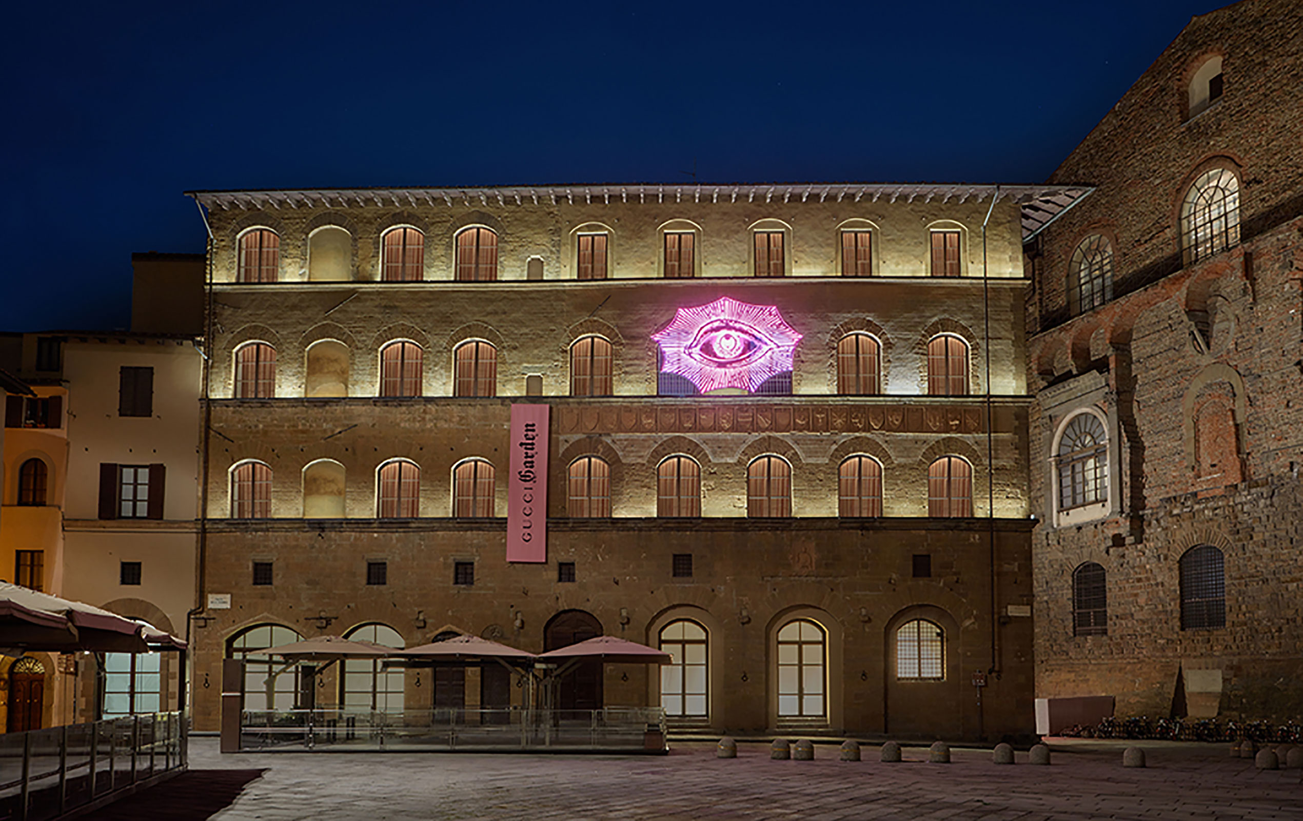 Gucci Opend 'Gucci Garden' In Florence