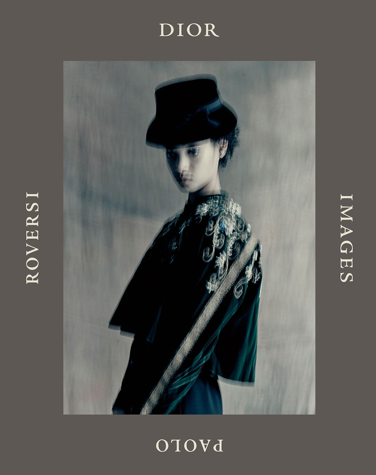 『DIOR IMAGES PAOLO ROVERSI』カバー | © Dior