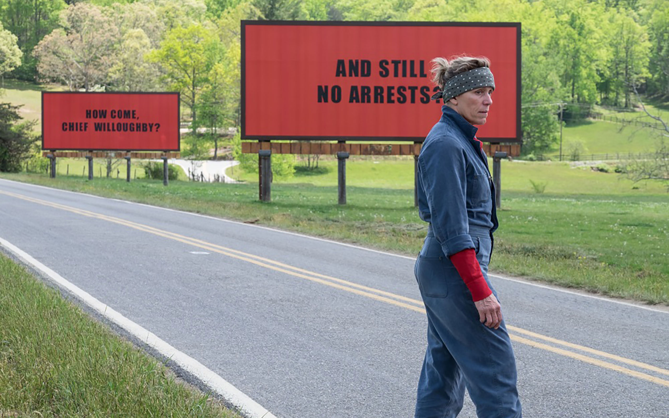 """""""Three Billboards Outside Ebbing, Missouri"""" Is Now Showing"""
