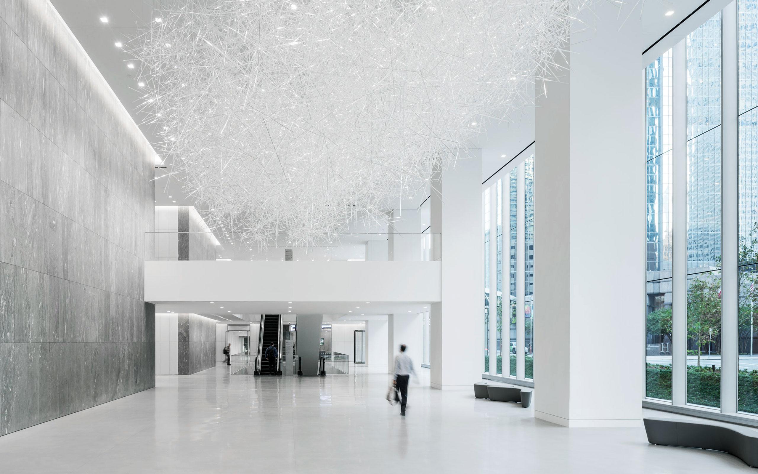 Allen Center New Art Project 'Prismatic Cloud' by Tokujin Yoshioka