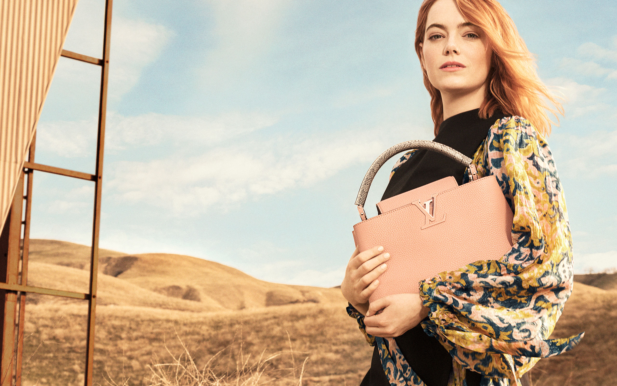 Emma Stone Fronts Louis Vuitton's Latest Campaign Shot By Craig McDean