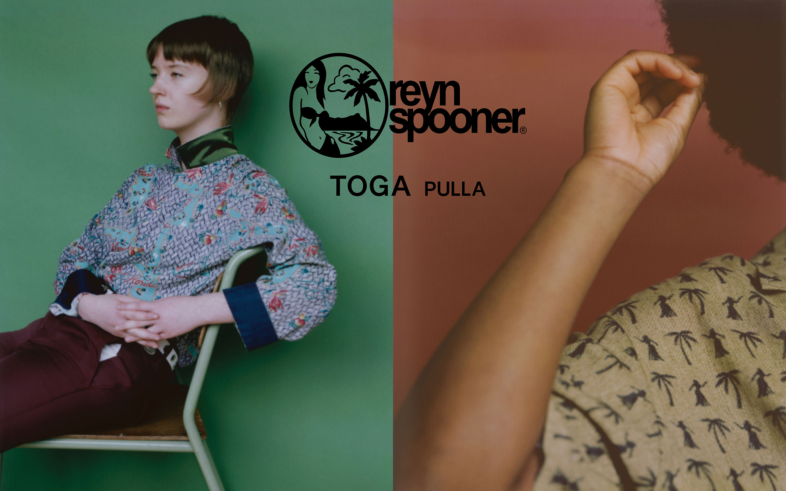 TOGA PULLA × reyn spooner Is Coming Back