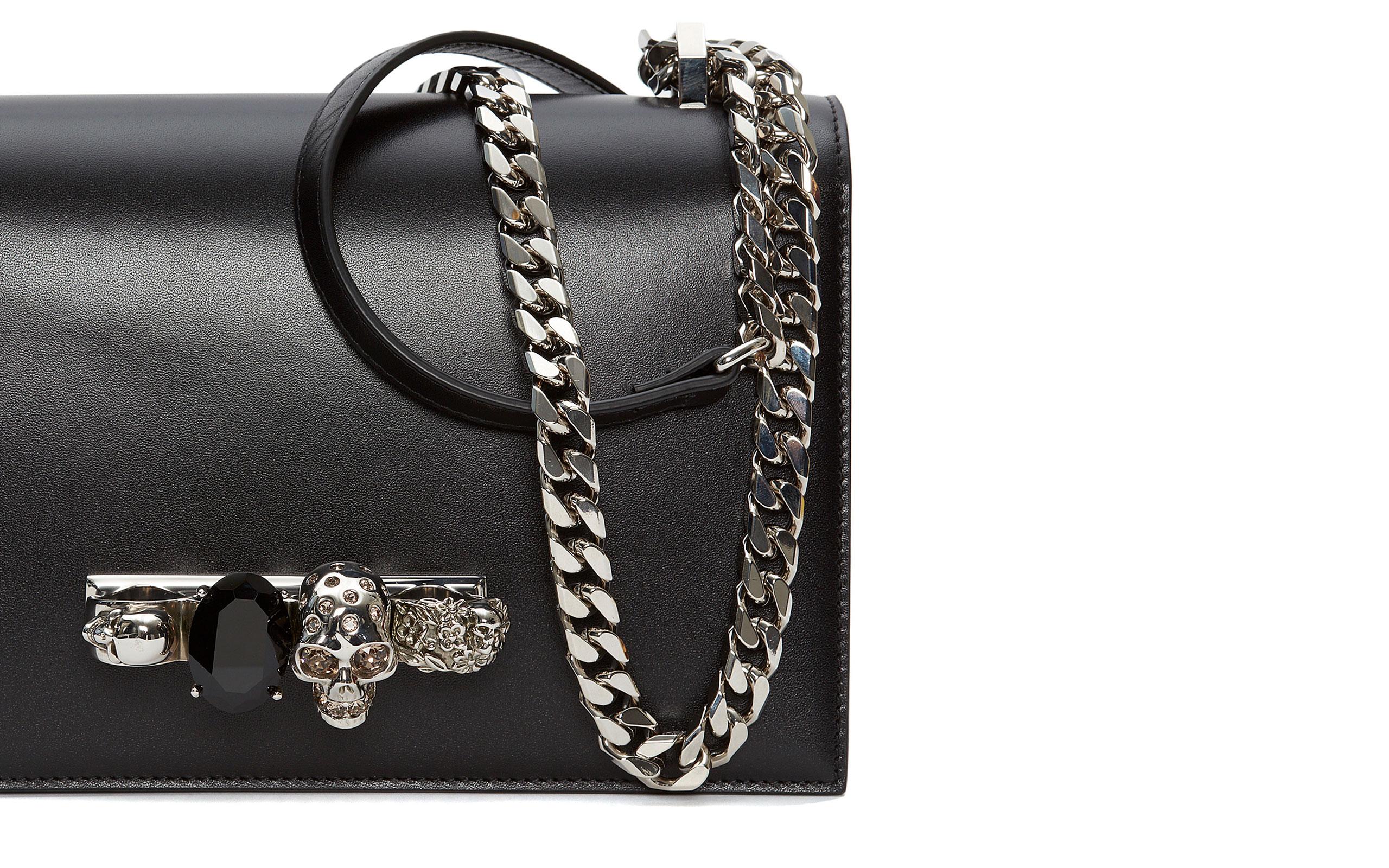 """Alexander McQueen Introduces New """"""""Jewelled Satchel"""" Bag"""