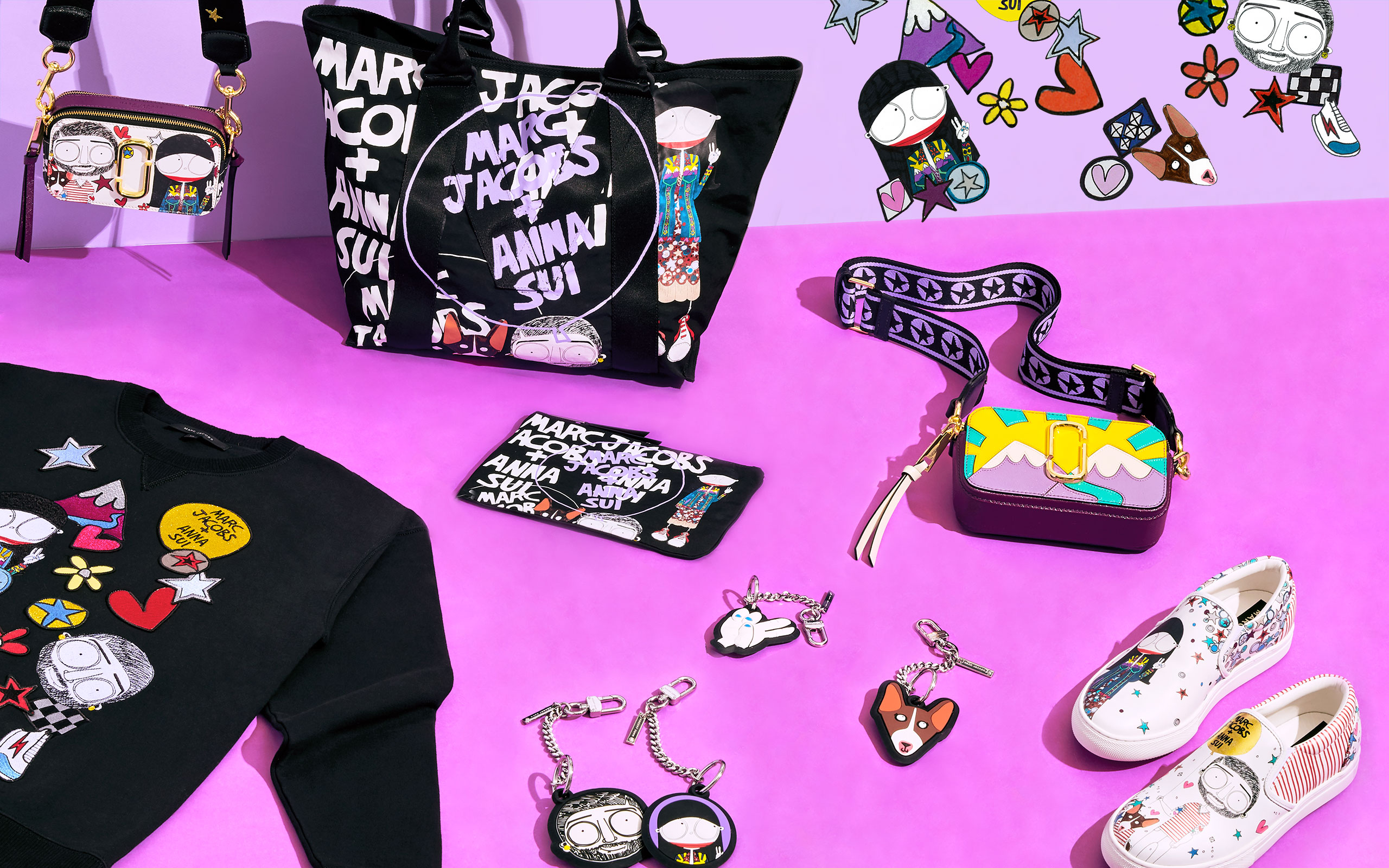 Marc Jacobs × Anna Sui Is Actually Happening