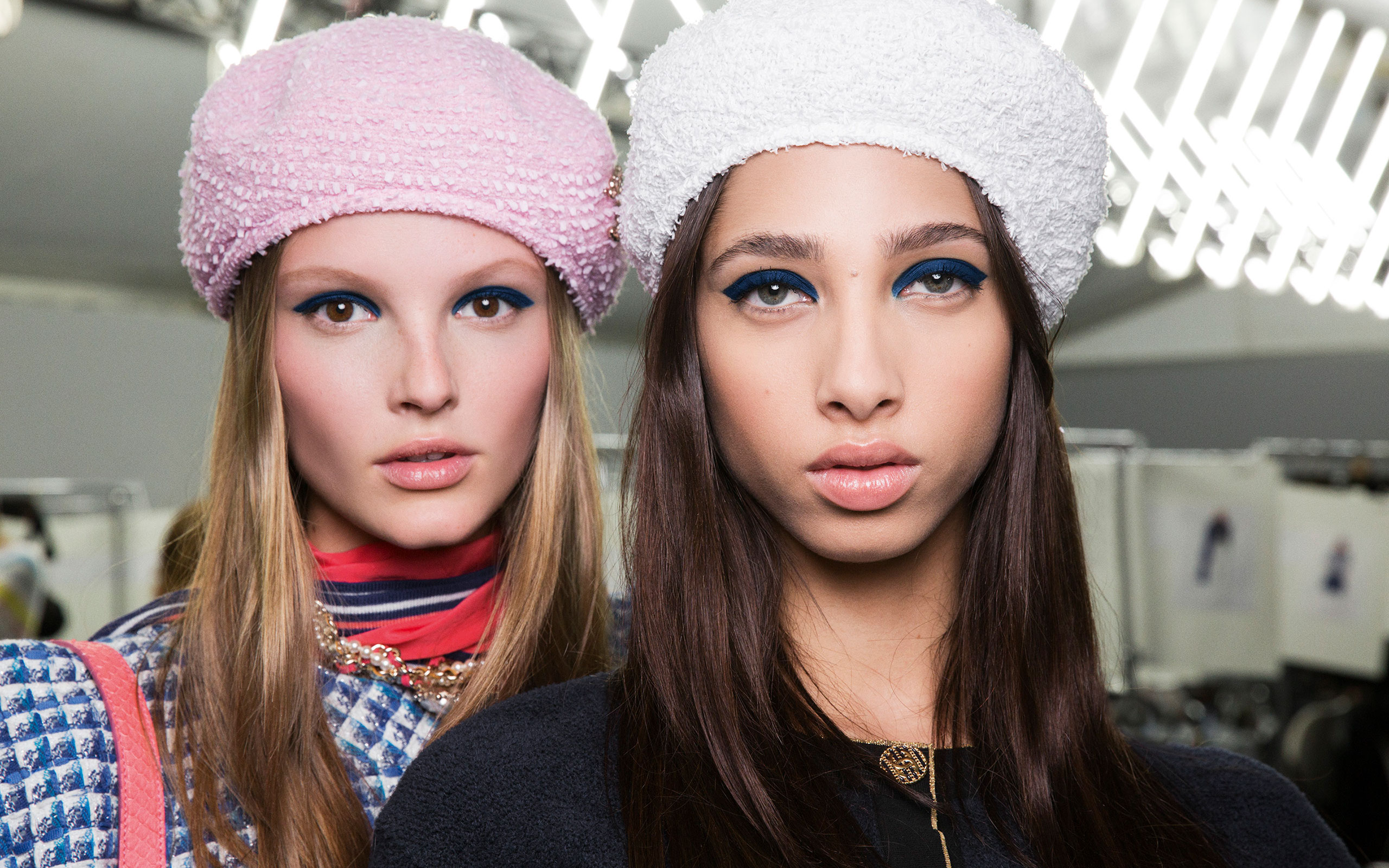 Chanel's Cruise 2018-19 Collection Make-Up By Lucia Pica