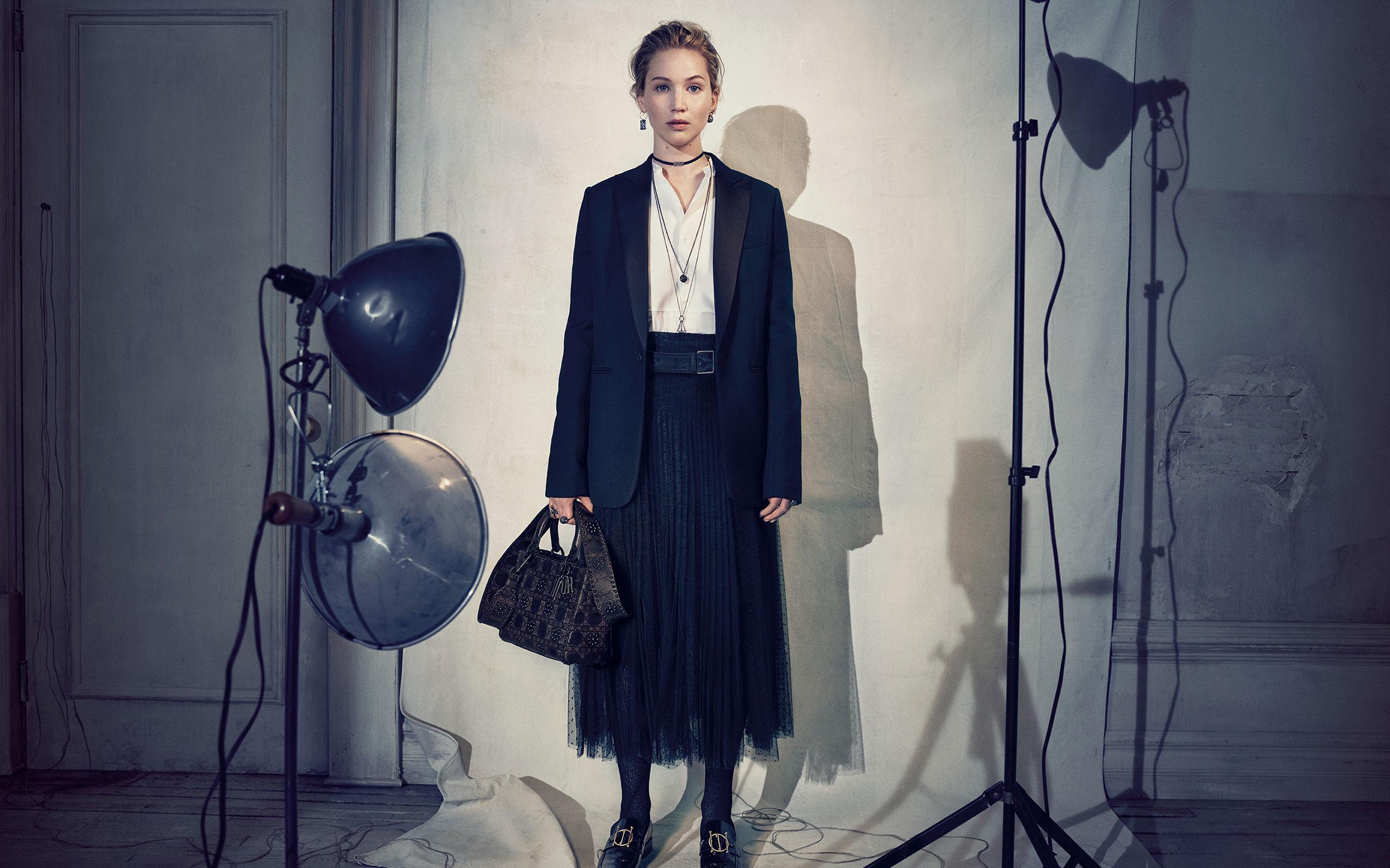 Brigitte Lacombe Shots Jennifer Lawrence For Dior's Latest Campaign