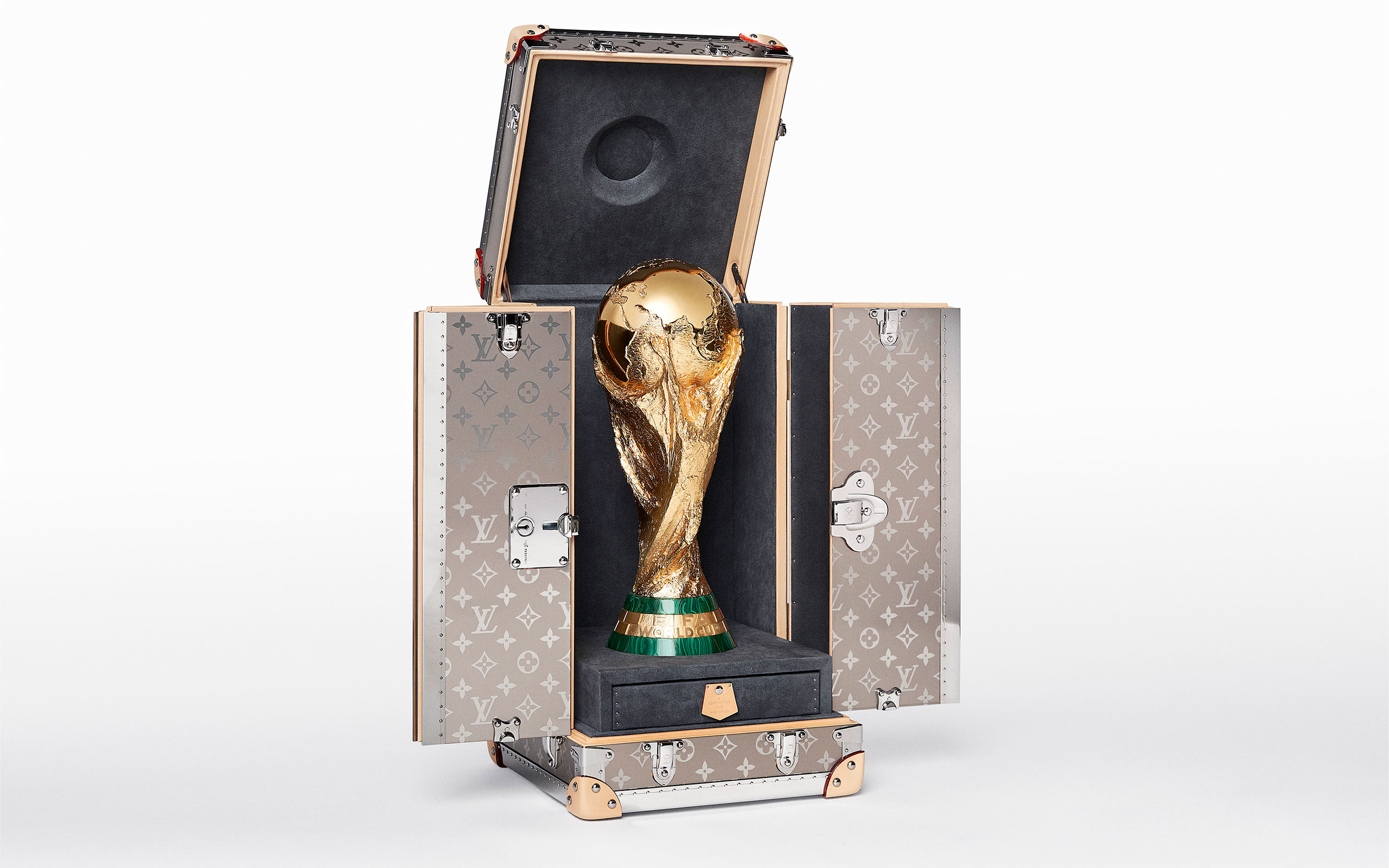 Louis Vuitton Designs Special Trophy Case For FIFA World Cup