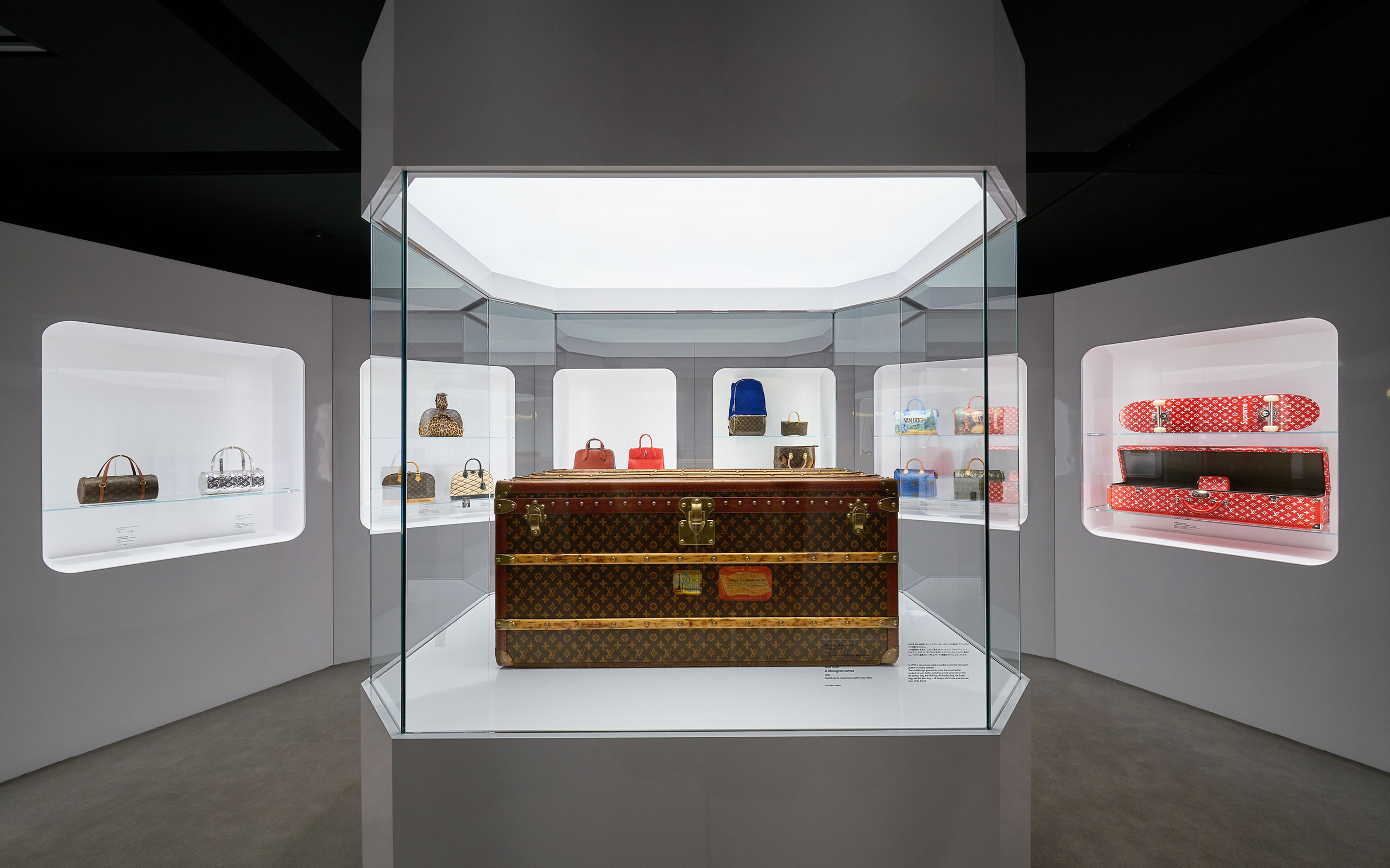"""Louis Vuitton Opens New Exhibition""""TIME CAPSULE"""" In Osaka"""
