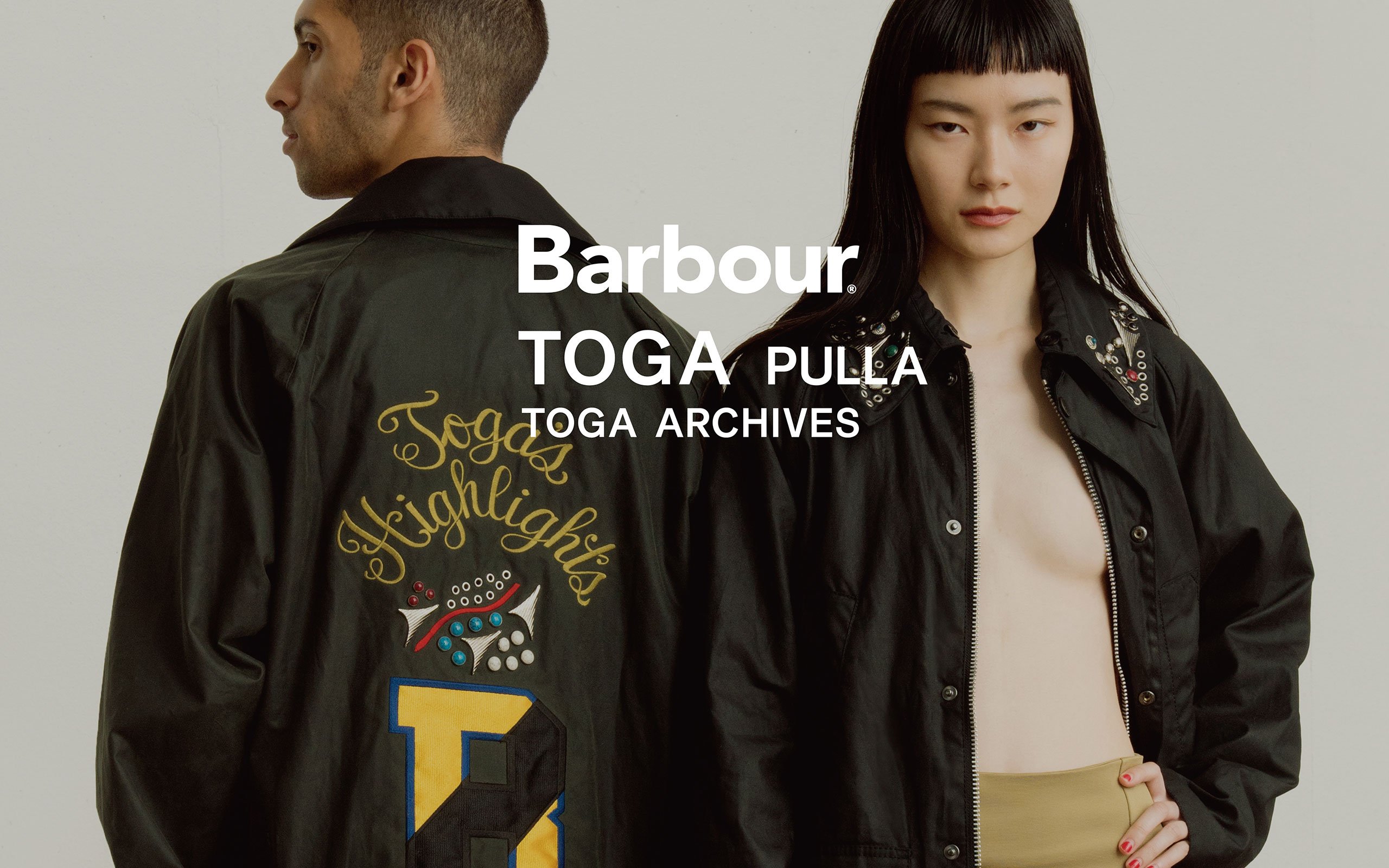 TOGA PULLA Collaborates With Barbour Again