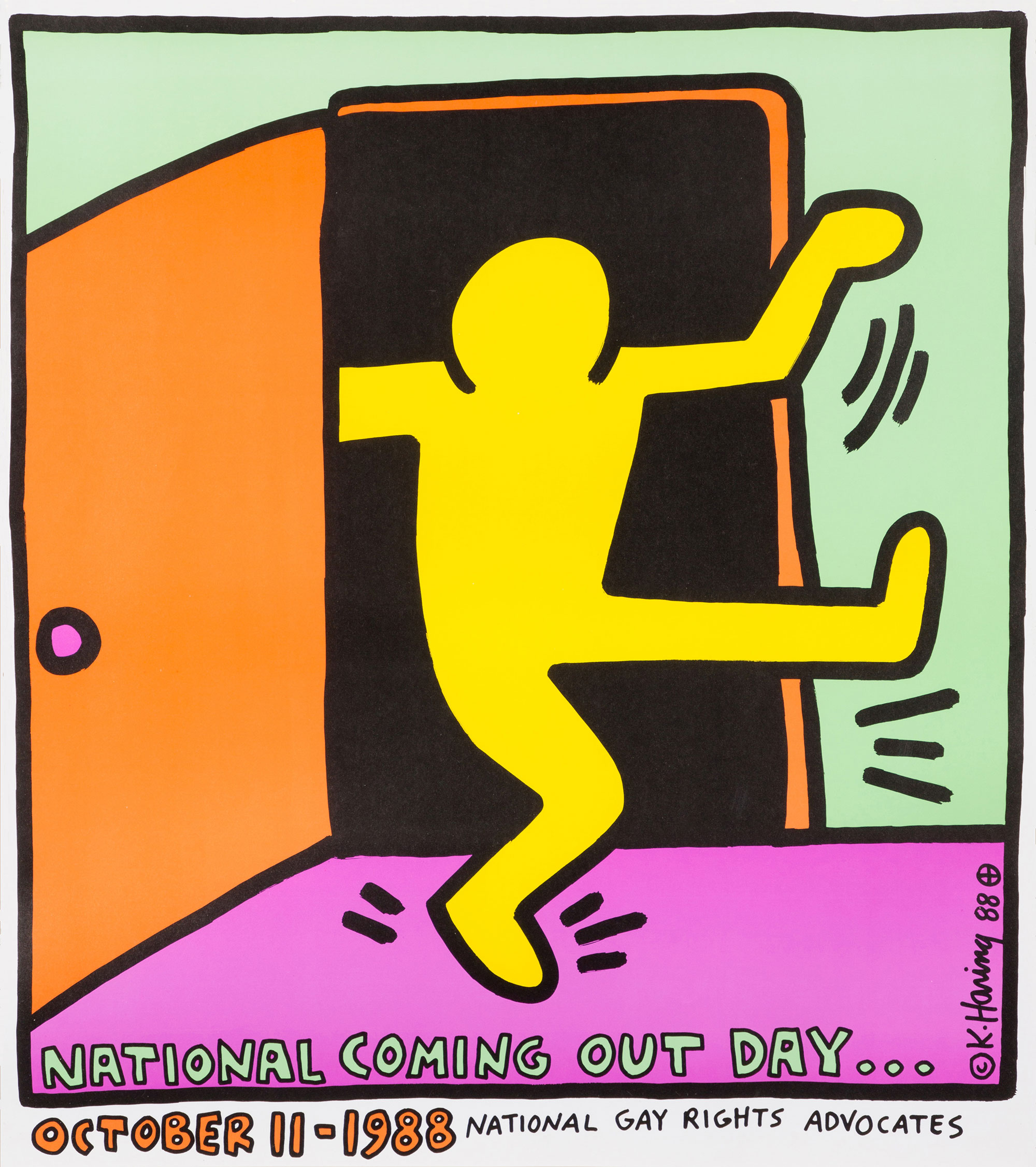 ポスター National Coming Out Day..., 1988