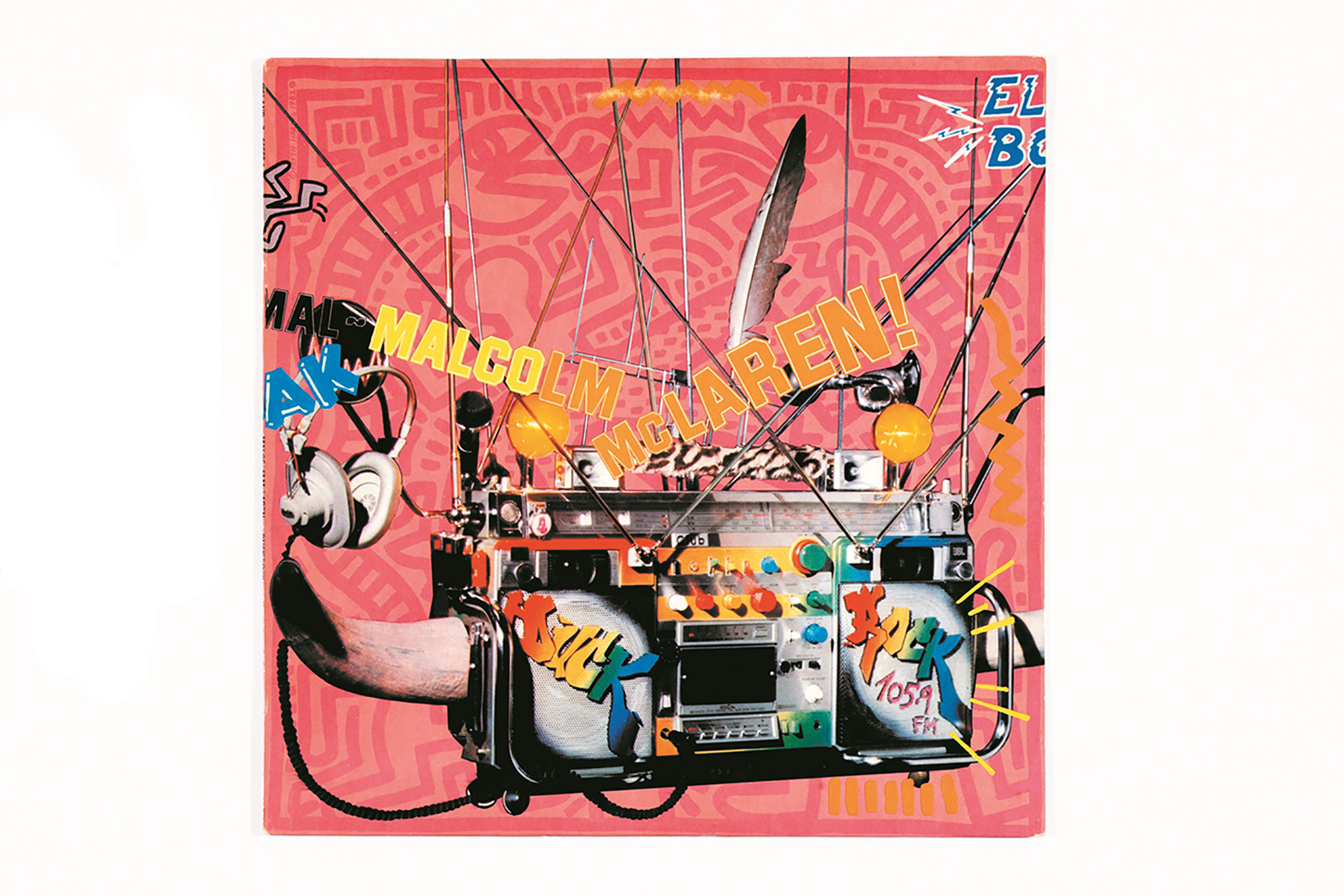 レコード・カバー Duck Rock, Malcolm McLaren, 1983