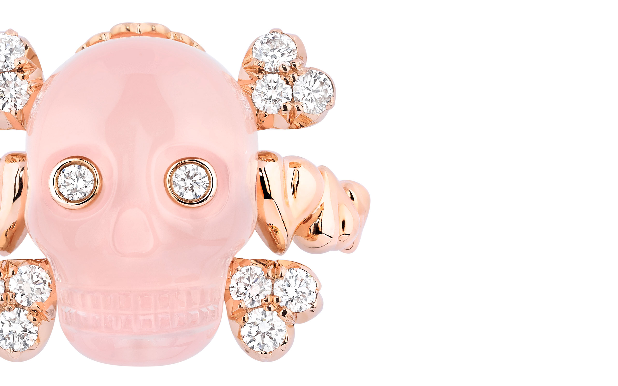 "DIOR JOAILLERIE Launches New Collection ""Tête de Mort"""