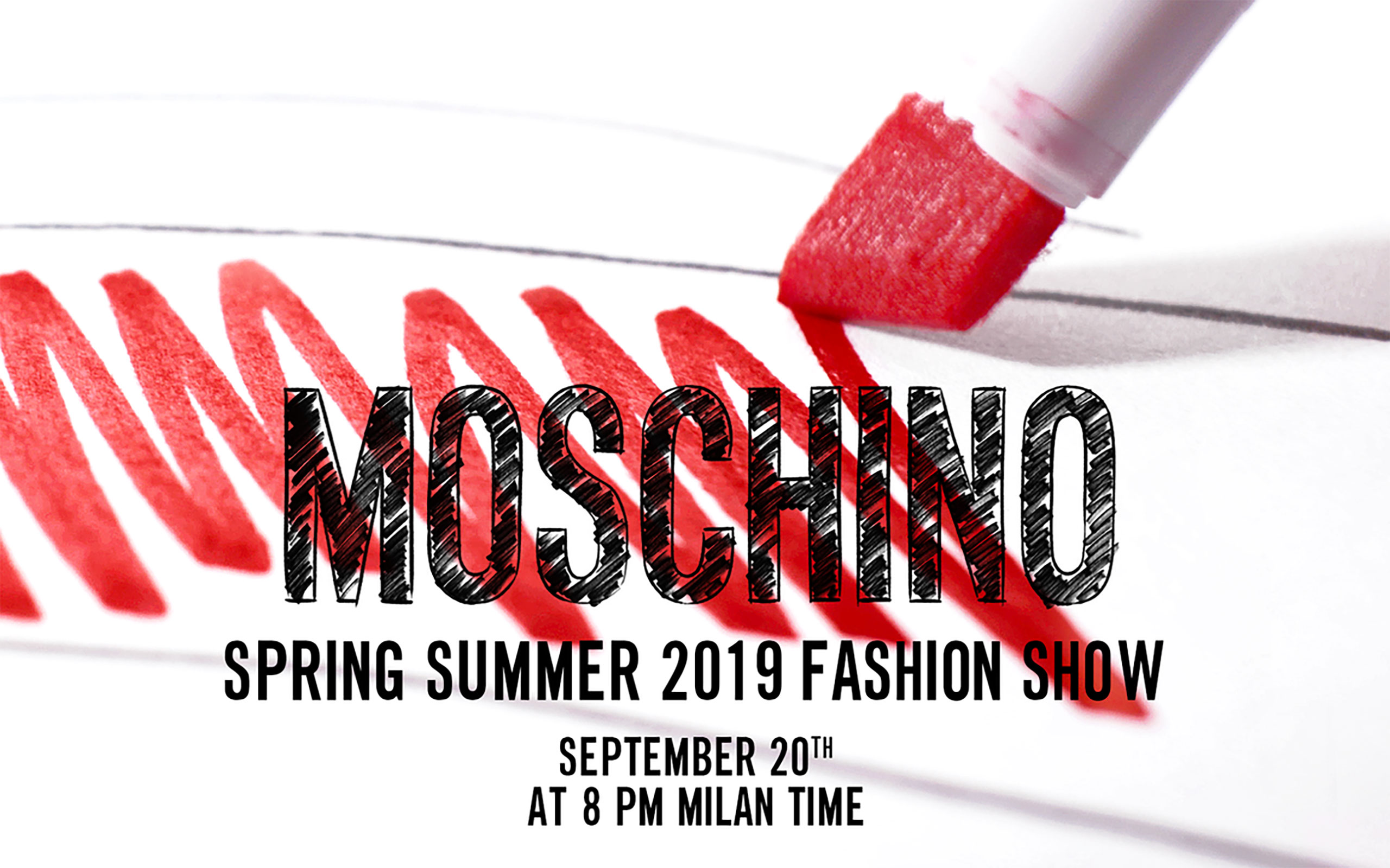 Now On Live: Moschino Spring Summer 2019 Collection
