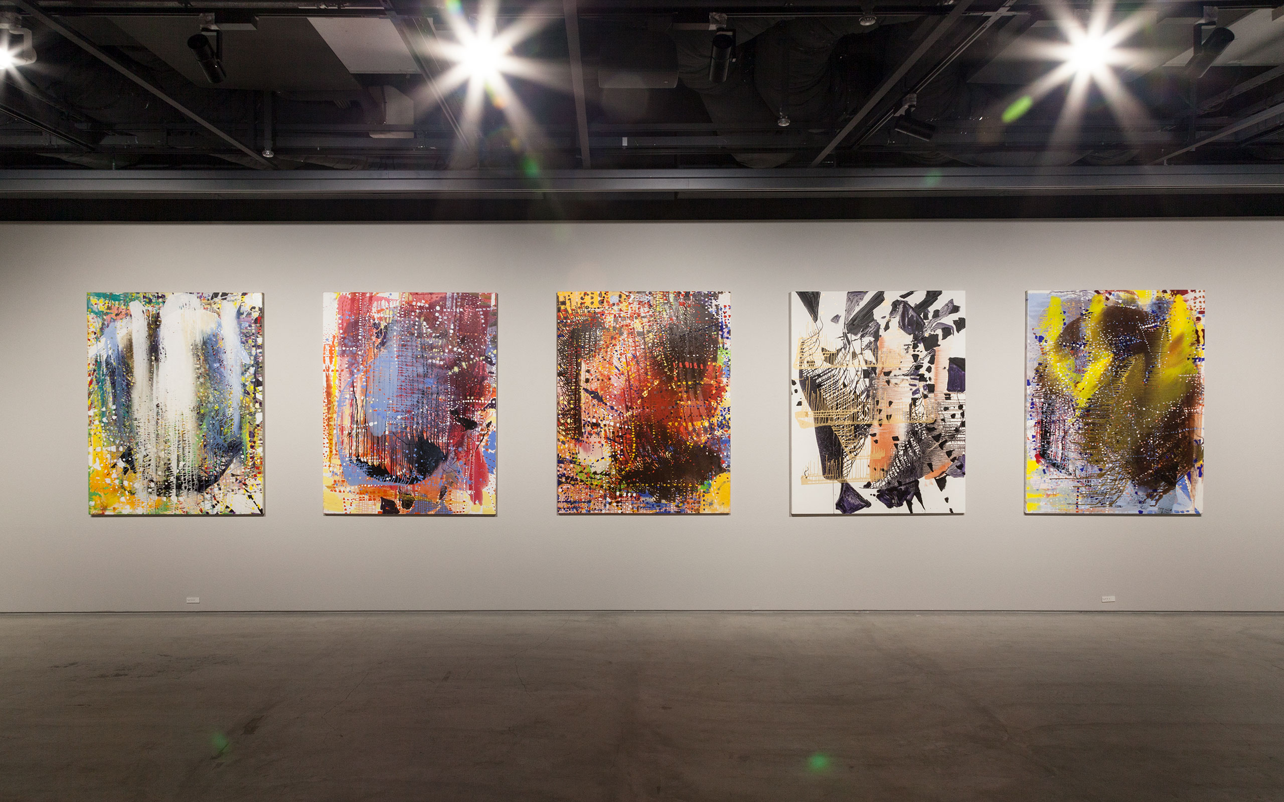 Jackie Saccoccio Exhibition At THE CLUB