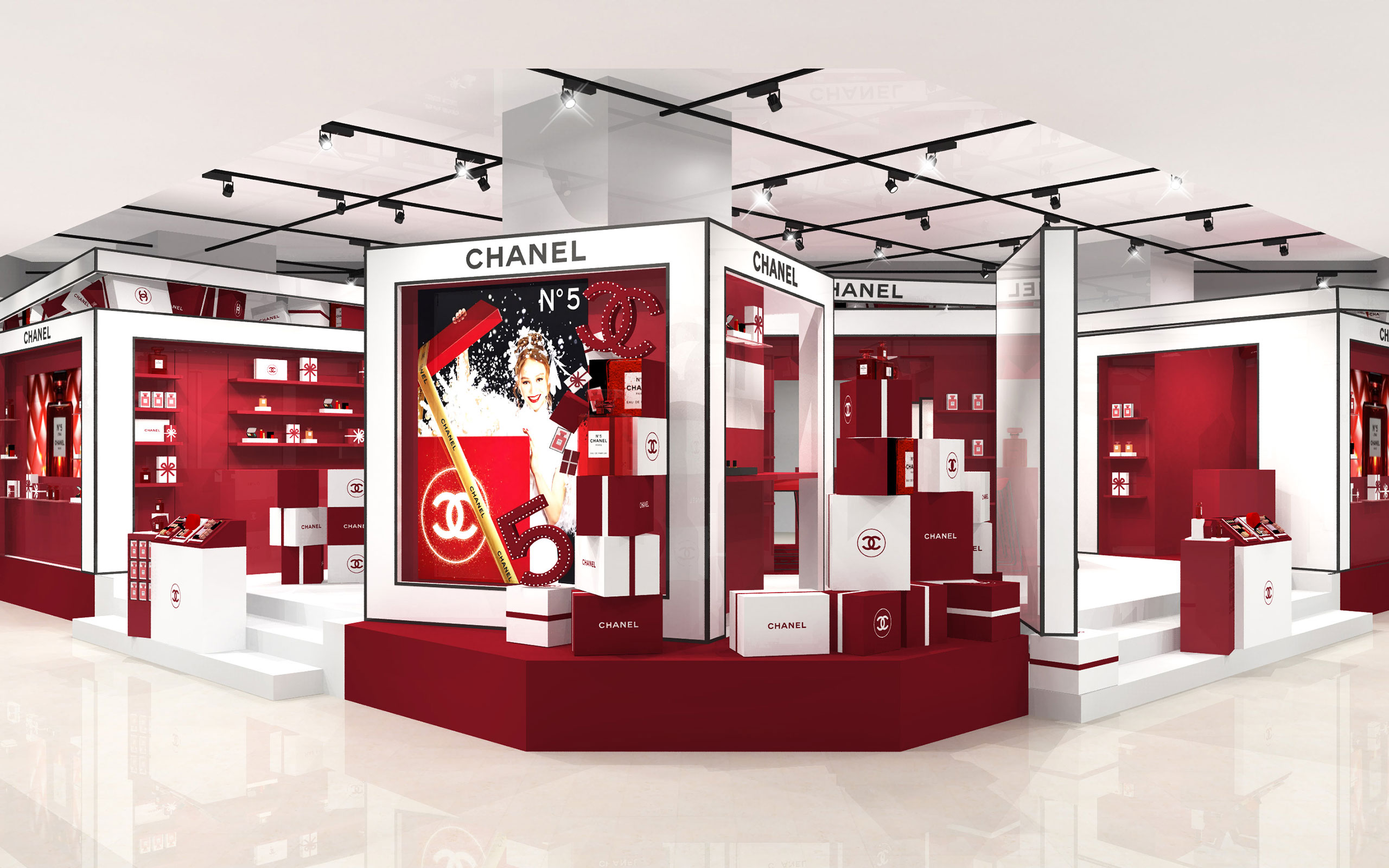 """CHANEL To Hold Pop-Up Event """"LE 5 EN ROUGE"""""""