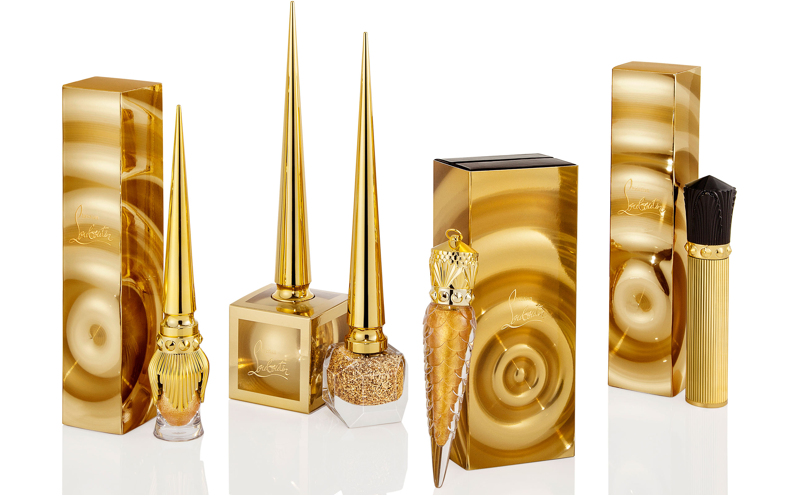 Christian Louboutin Laununched 'Goldomania' For The Holidays