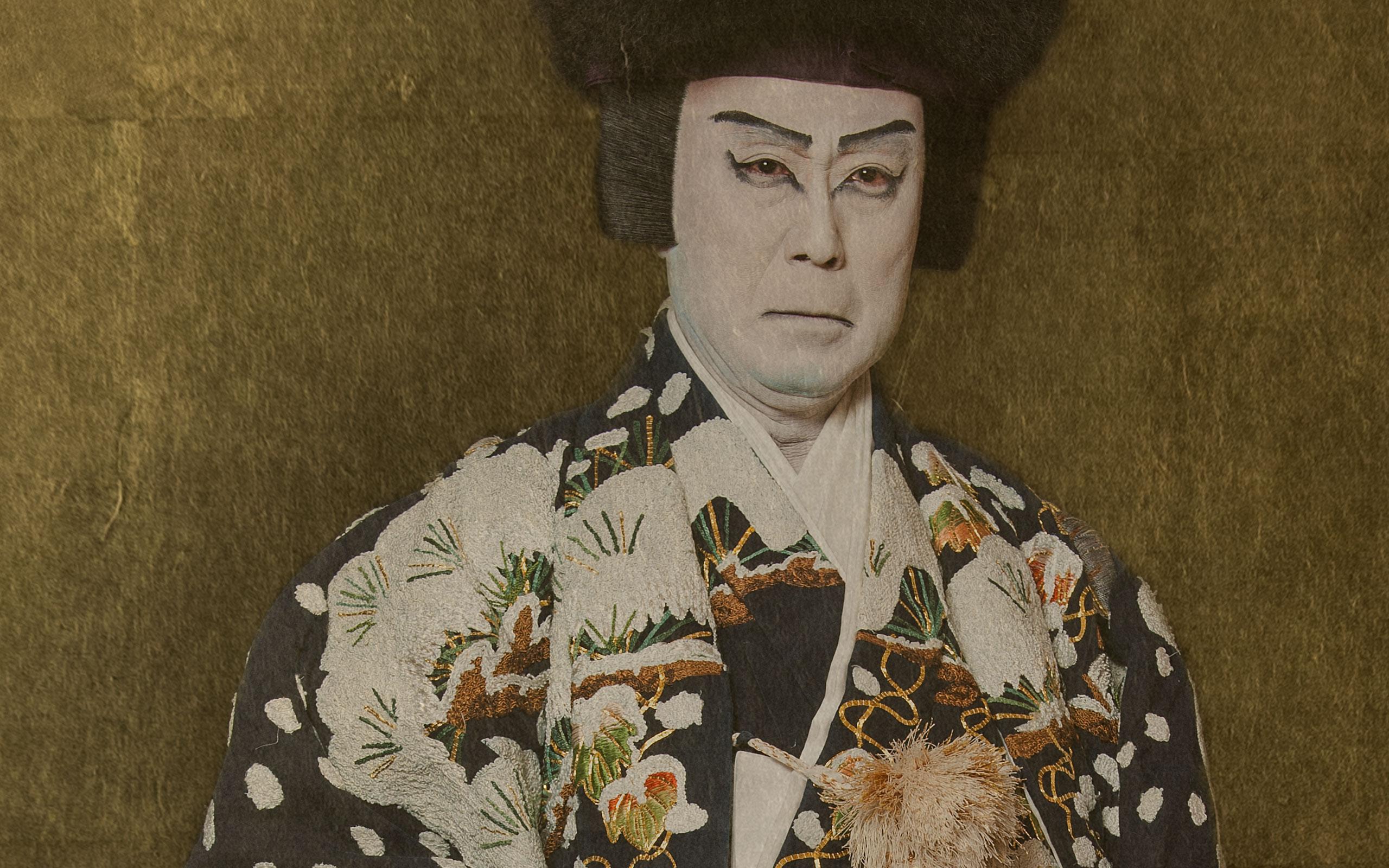 """MIKIMOTO Presents Naruyasu Nabeshima's Photo Exhibition """"Nakamura Kichiemon II"""""""