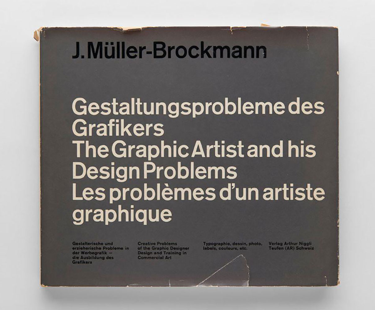 『The Graphic Artist and his Design Problems』
