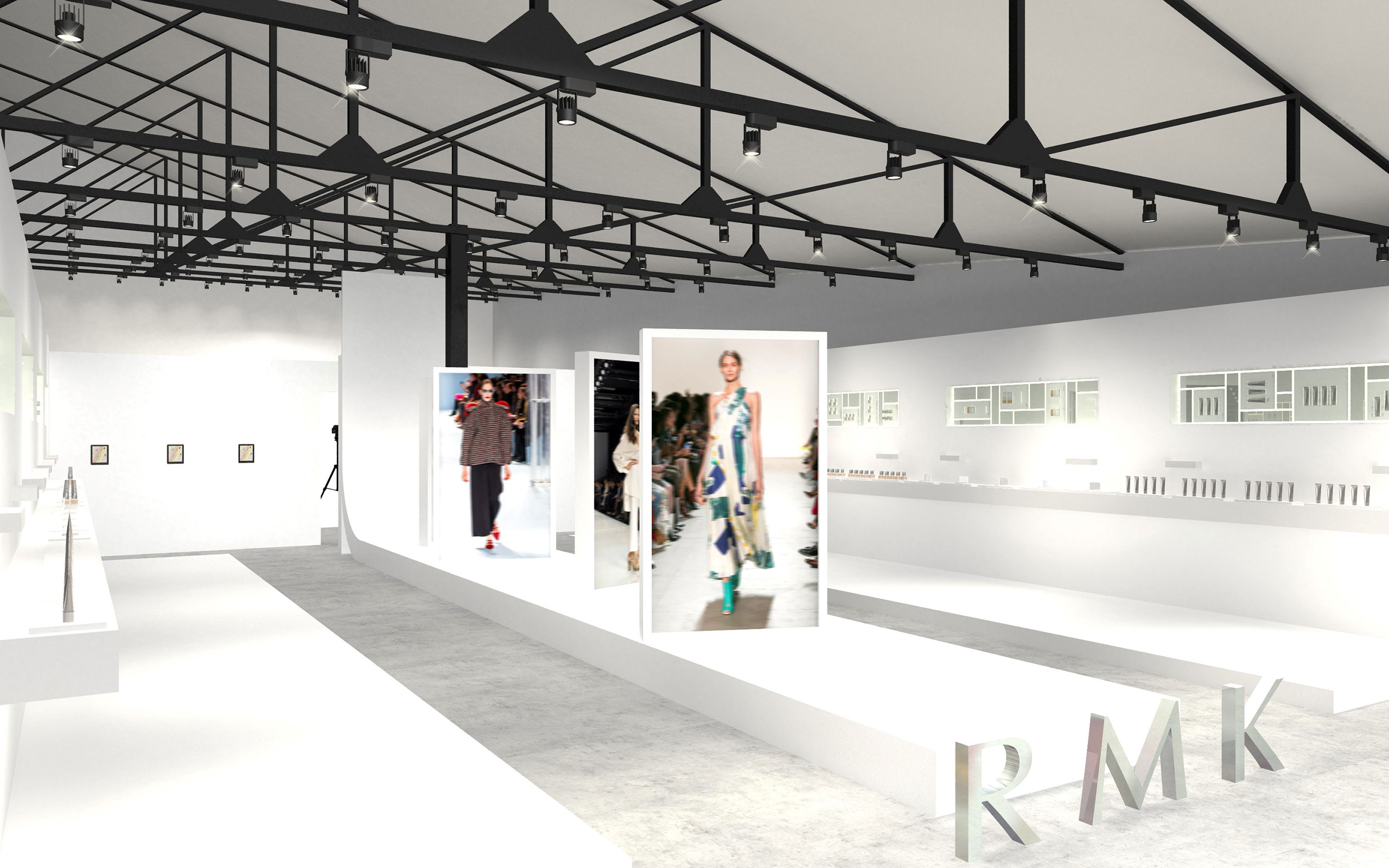 RMK Presents Its Pop-Up Event In Omotesando