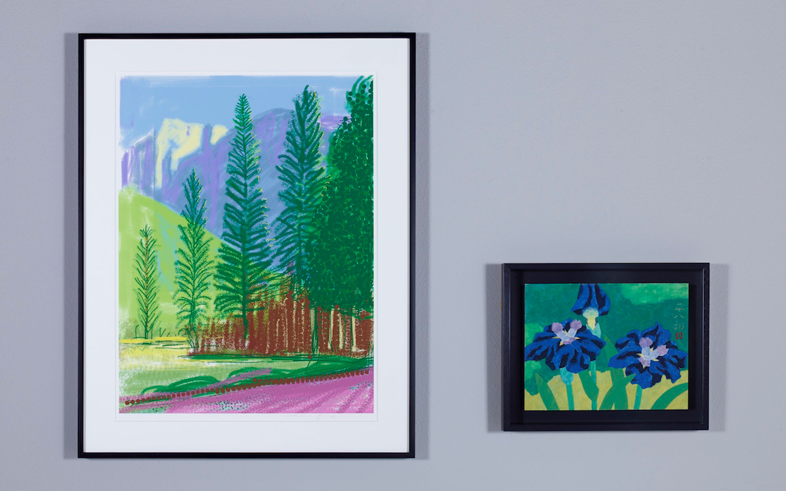 David Hockney  and Heihachirō Fukuda To Hold A Joint Exhibition 'An Encounter of Two Colorists' At THE CLUB