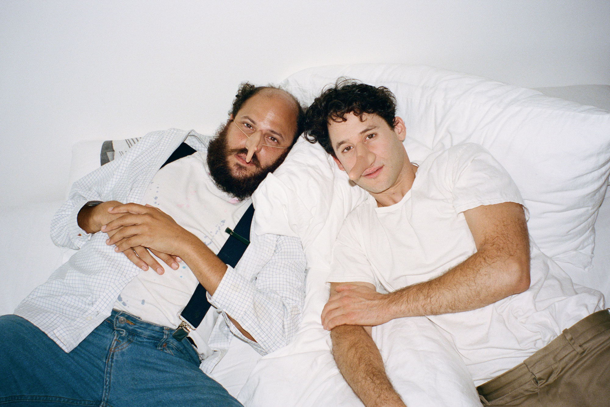 Joey Frank (left) and Jordan Wolfson (right) © PARTNERS