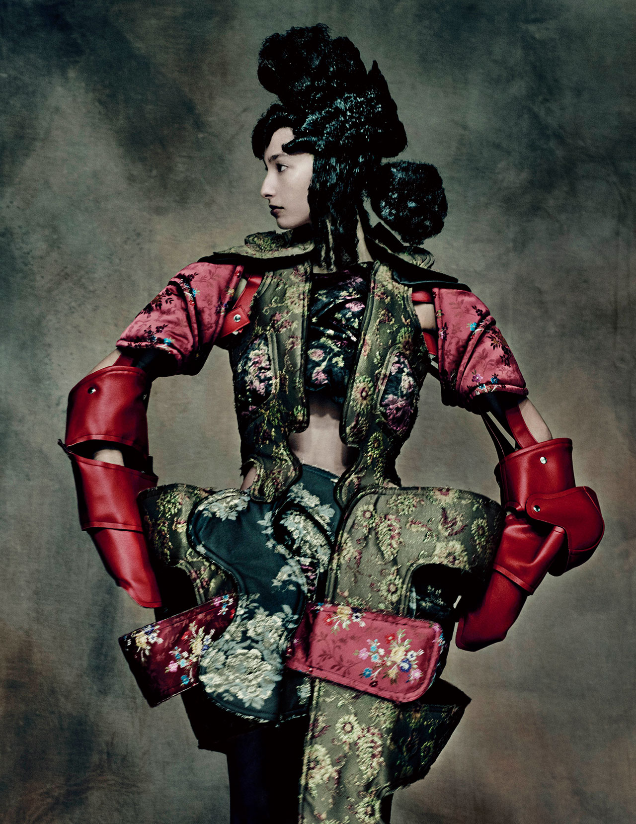 Rei Kawakubo (Japanese, born 1942) for Comme des Garçons (Japanese, founded 1969), 18th Century Punk, autumn/winter 2016–17; Courtesy of Comme des Garçons. Photograph by © Paolo Roversi; Courtesy of The Metropolitan Museum of Art
