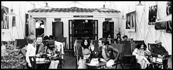1970年代の「Cafe' de Rope' (カフェ ド ロペ) 」