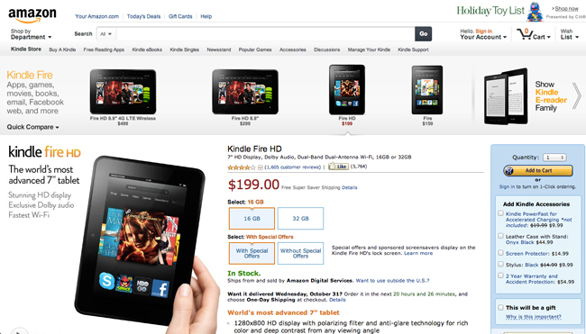 Amazon.com HP