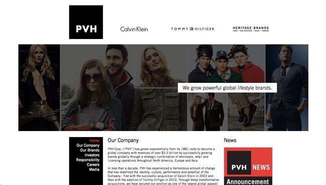 ©PVH Corp. HP