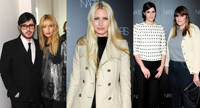 (Left) Francois Nars (Right) Rachel Zoe | Kirsty Hume | (Left) Laura Mulleavy (Right) Kate Mulleavy