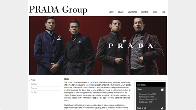©Prada Group HP