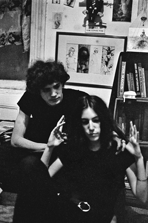 In the apartment of Hall St. in Brooklyn (1968)