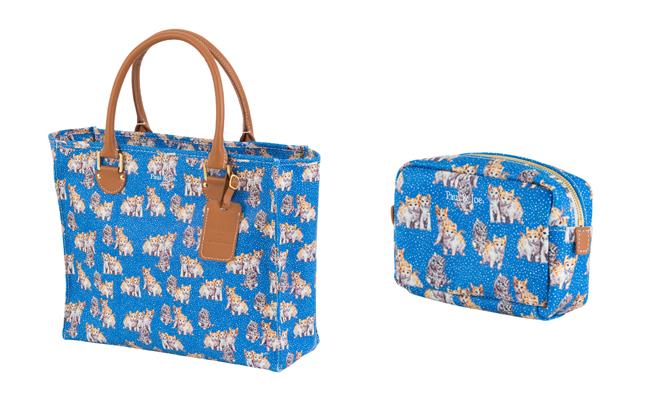 (Left) Tote Bag | (Rignt) Pouch